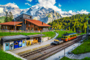 Winteregg Railway Station, Switzerland