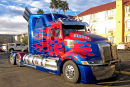 Western Star 5700xe Optimus Prime