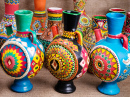 Decorated Handcrafted Egyptian Jugs