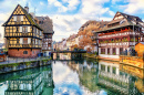 Half-Timbered Houses, Strasbourg, France
