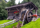 Old Wooden Mill in Austria