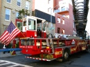 Fire Engine in Greenpoint