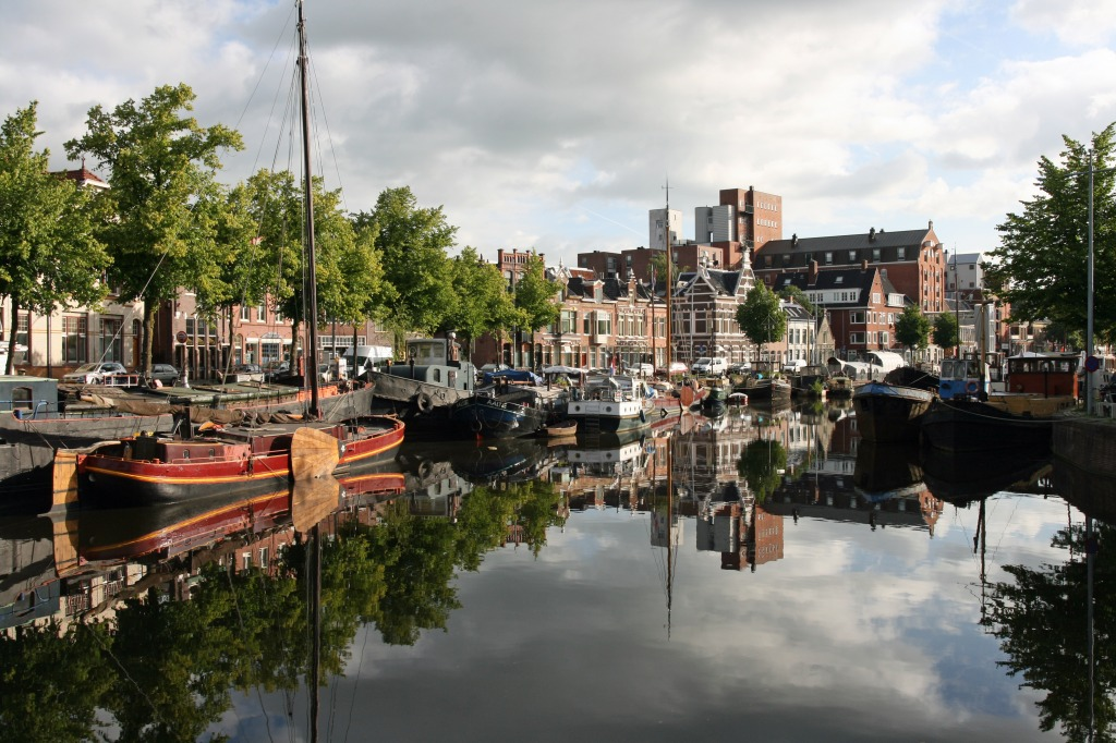 Groningen Netherlands  city photos gallery : Groningen, Netherlands jigsaw puzzle in Street View puzzles on ...