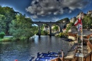 Knaresborough in August