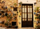 Typical Door in Mallorca
