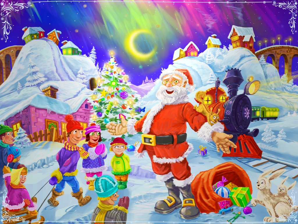 Merry Christmas Jigsaw Puzzle In Puzzle Of The Day