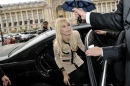 Claudia Schiffer, People au Défilé Channel