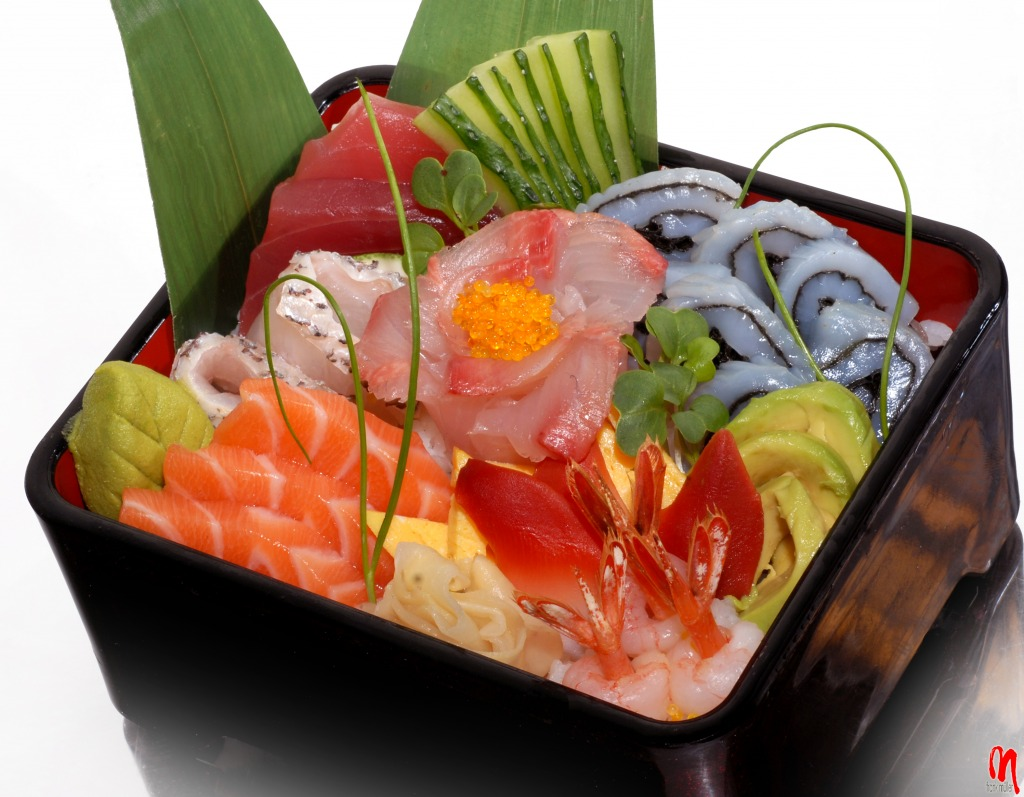 sashimi jigsaw puzzle in food bakery puzzles on. Black Bedroom Furniture Sets. Home Design Ideas